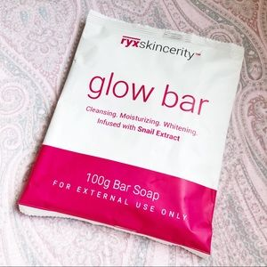 RYXSkincerity Glow Bar Cleansing Whitening Soap